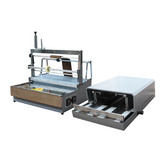 ACW-88 + A3DP-88 semi-automatic pneumatic packing machine for cigarette box and perfume box
