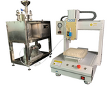 Cartridge filling machine, dental CO2 oil filling machine