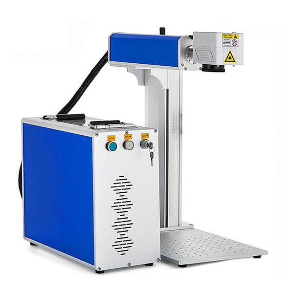 Split type portable stable fiber laser marking machine for metals&non-metals
