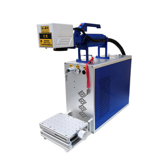 One-piece handheld stable portable fiber laser marking machine for metals&non-metals