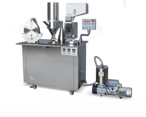 Semi-Auto Medical Capsule Filling Machine