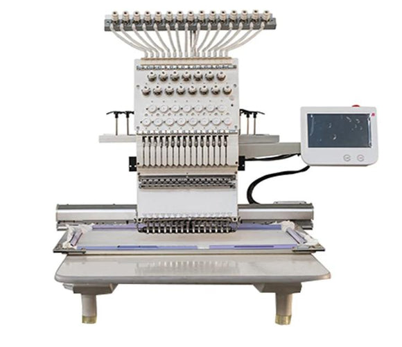 Single Head 12 needless Embroidery Machine
