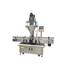 ADF-500 automatic powder filling machine for disinfecting powder, talcum powder, milk powder, wheat flour