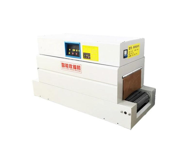 Semi-automatic food shrink wrap packing and stretch film wrapping machine
