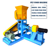 Grain Free Small Dry Wet Pet Dog Food Pellet Making Extrusion Machine,Poultry Fish Animal Feed Pellet Making Machine