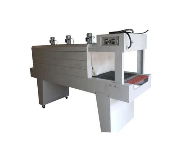 Semi-automatic PE film shrink horizontal wrapping machine