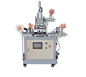 HSR-P-2126 Continuous ribbon rolling gilding hot stamping machine , roll to roll hot foil stamping machine,lanyard printing machine