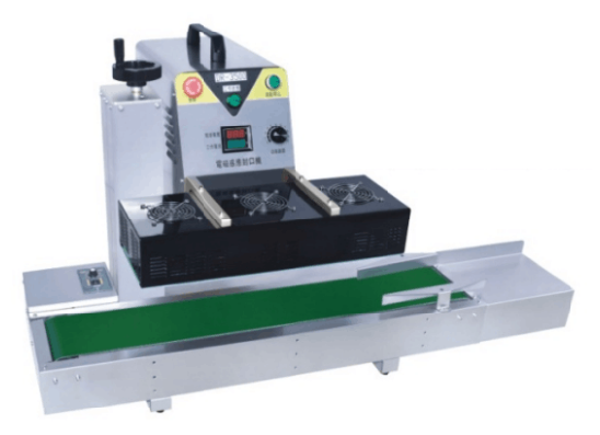 DR-3500 Plastic Bag Soild Ink Continuous Band Sealer Sealing Machine Expanded Food Band Sealer
