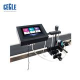 automatic spray batch inkjet printer , mini continuous barcode inkjet printing machine for bottles/boxes/accessories/books