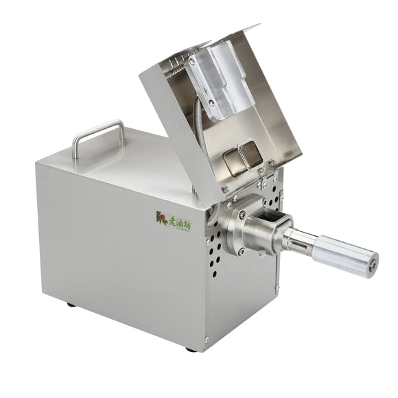 Automatic Small Oil Press Machine Full Stainless Steel Oil Expeller 110V/220V