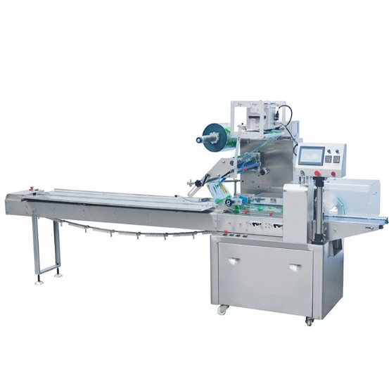Automatic pillow type food pouch packing machine