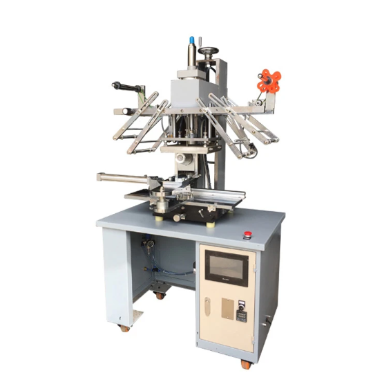 HT-C-200 Semi auto conical heat transfer machine