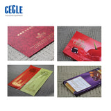 GP Series Semi-automatic wallet leather logo embossed   label hot stamping machine