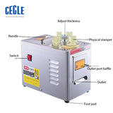 Semi- Automatic Chinese Herbal Medicine Slicer Machine Functional Cutter Cutting Machine