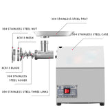 Commercial household high-efficiency ground meat machine,electric meat grinder
