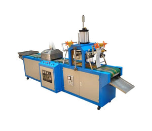 Automatic roll to roll sheet metal and stainless steel hot stamping machine