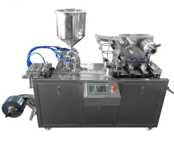 DPP-88 Automatic Liquid Filling Alu Plastic Blister Packing Machines for perfume