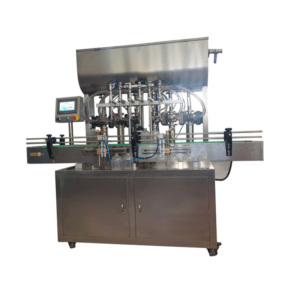 FA6-5000 10-5000ML automatic six nozzles disinfection and hand sanitizer liquid and paste filling machine