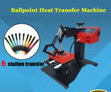 6 Pcs Digital Pen Heat Press Machine for Pen Heat Transfer Printing