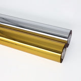 120m hot stamping paper anodized aluminum leather paper plastic hot stamping paper gold and silver