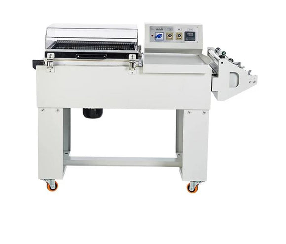 FM5540 Semi automatic 2in1 shrink mobile phone box wrapping machine