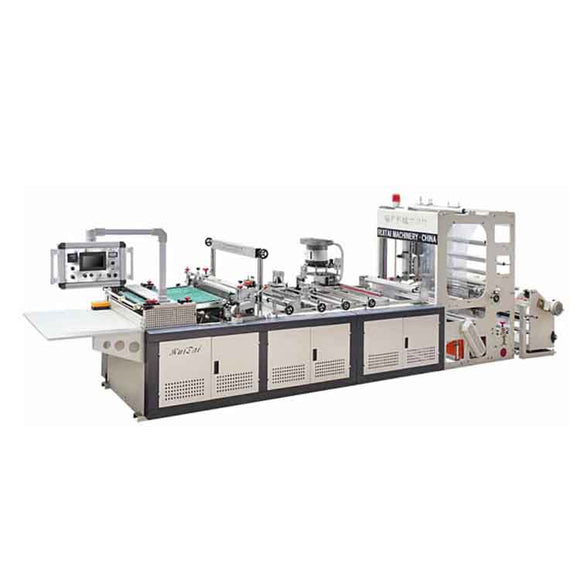 China automatic PVC plastic high frequency bag maker making machine price with zipper