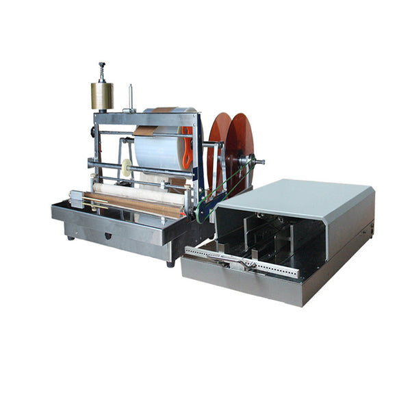 ACW-88A +3DP-88 Manual Type Perfume Box Overwrapping Packaging Machine