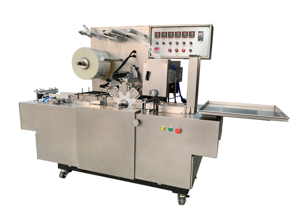 Automatic  cellophane wrapping machine Packaging Type Cartons,case,Film,box Driven Type Electric Packaging Material Plastic