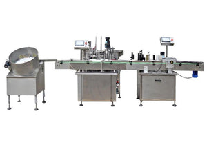 4 head full automatic liquid filling machine line for Gorilla bottle Dropper bottle Alcohol bottle