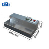 CW-115 Cellophane packing machine for cigarette;Manual cigarette box over wrapping machine