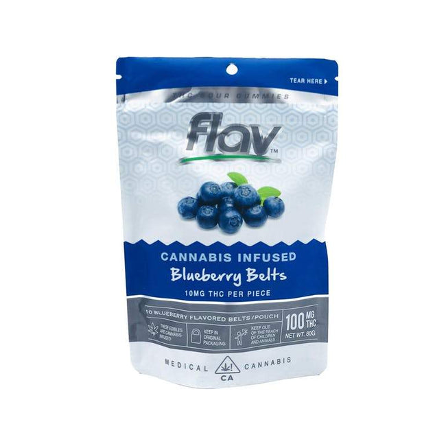 FlavRX Blueberry Belts 100mg - The Balloon Room