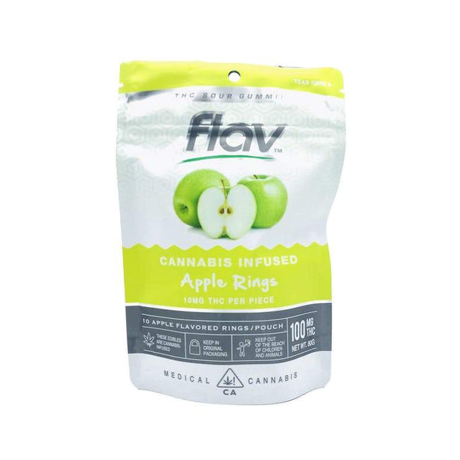 FlavRX Apple Rings 100mg - The Balloon Room