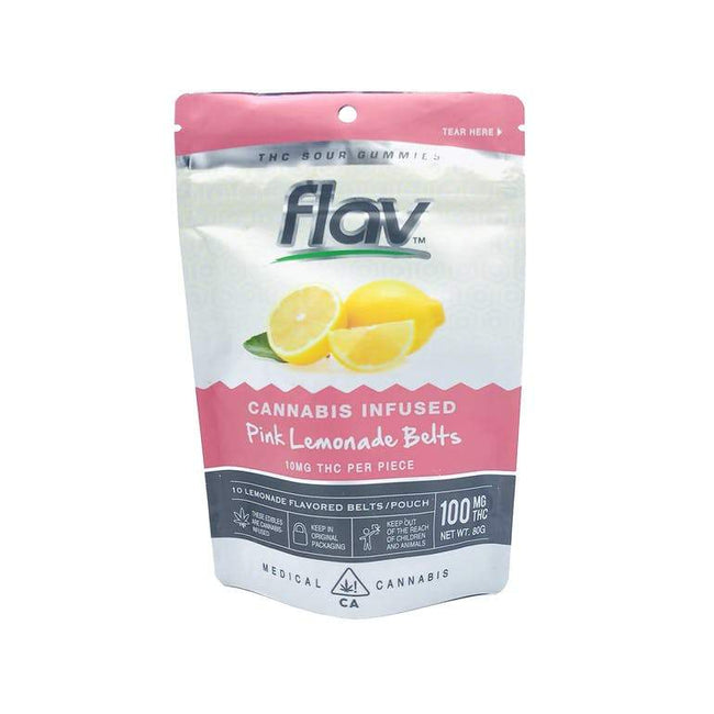 FlavRX Pink Lemonade Belts 100mg - The Balloon Room