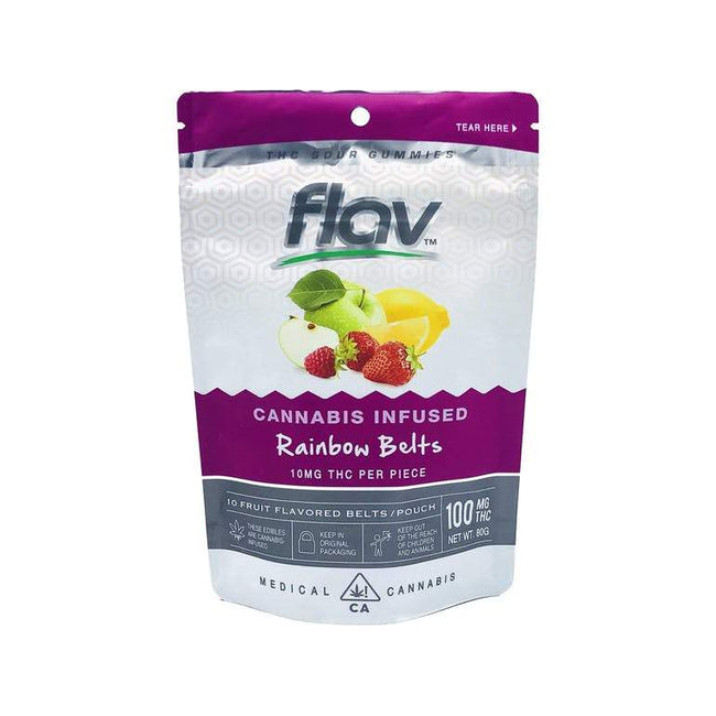 FlavRX Rainbow Belts 100mg - The Balloon Room