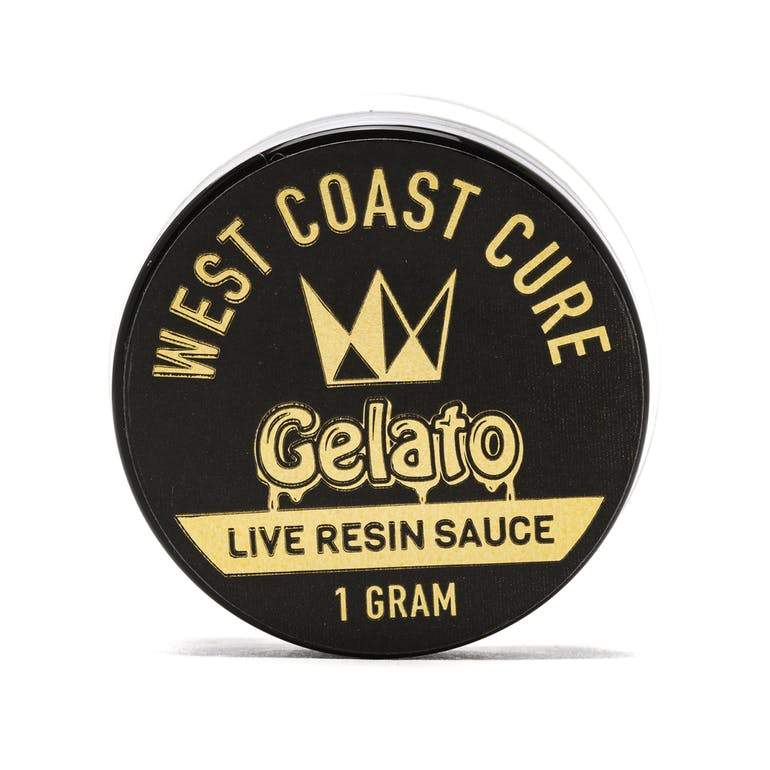 West Coast Cure Gelato Live Resin Sauce - The Balloon Room