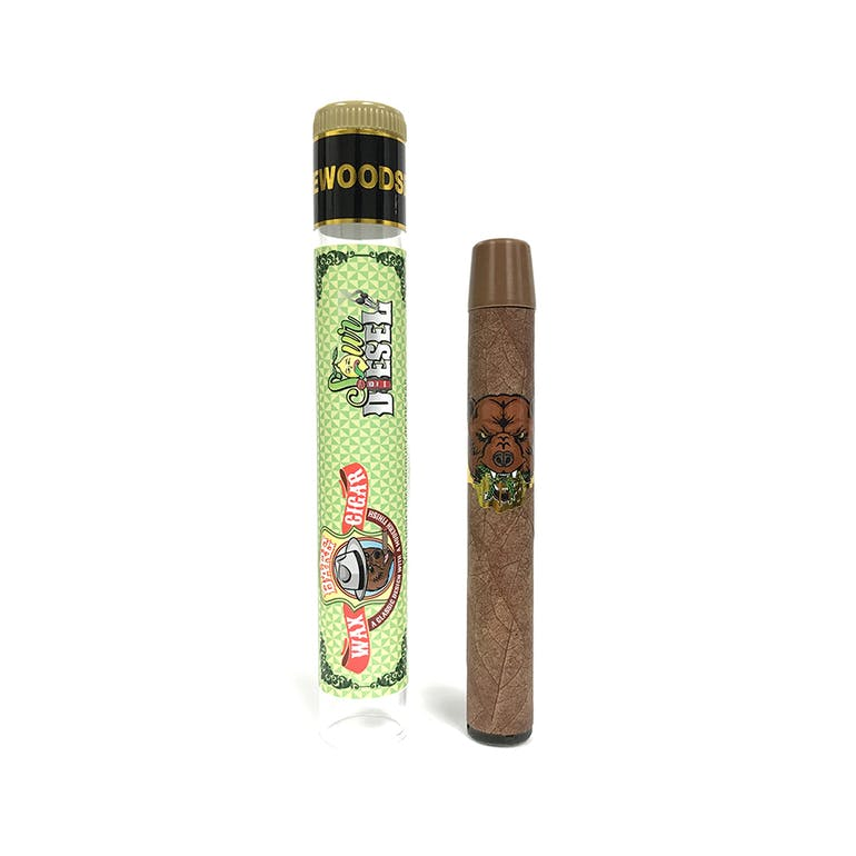 Barefarms Wax Cigar Sour Diesel Disposable Vape