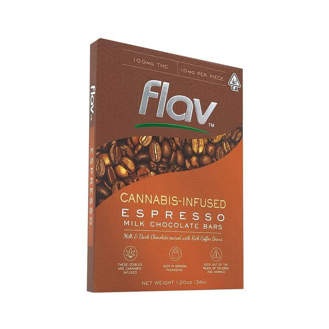 FlavRX Chocolate Bar - Espresso 100mg - The Balloon Room
