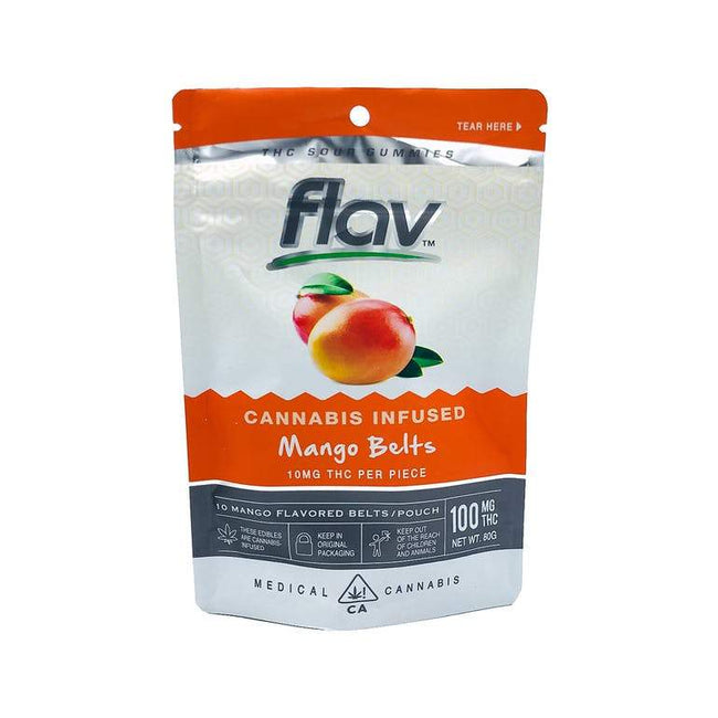FlavRX Mango Belts 100mg - The Balloon Room