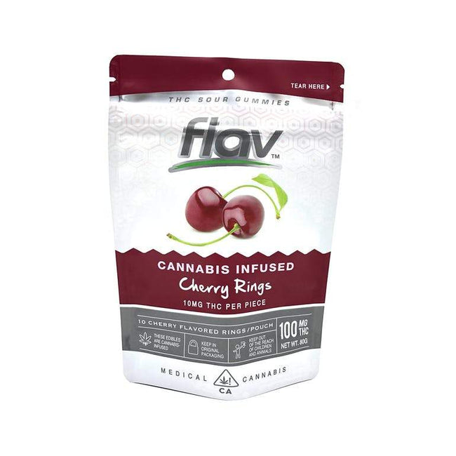 FlavRX Cherry Rings 100mg - The Balloon Room