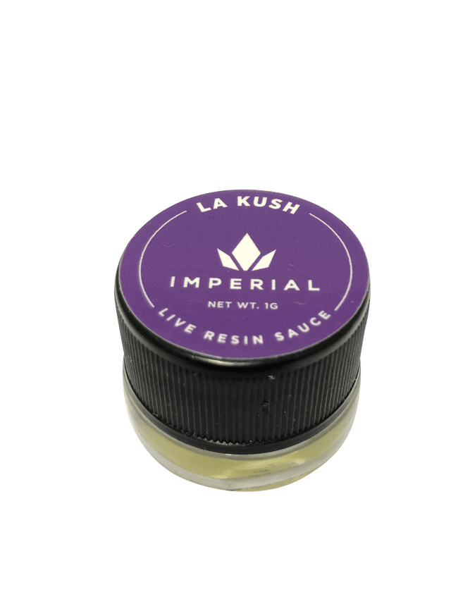 Imperial Extracts Live Resin Sauce - LA Kush - The Balloon Room