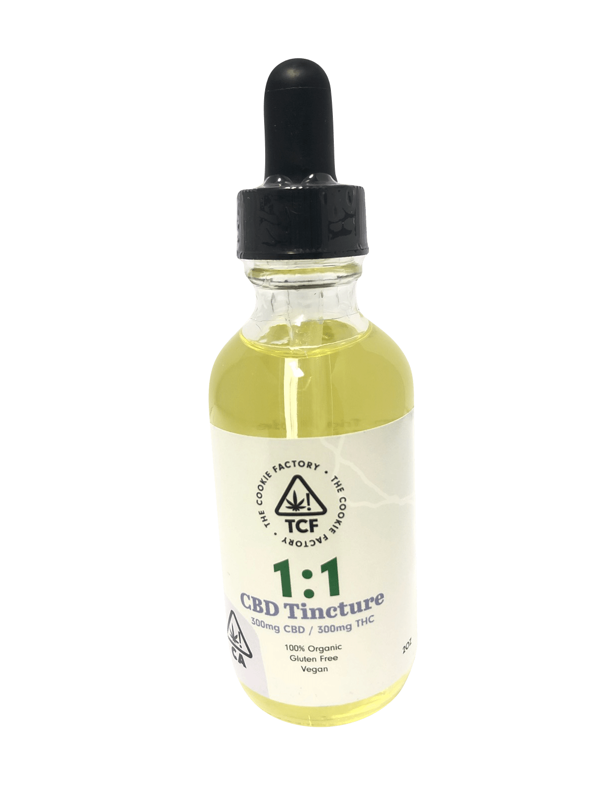 The Cookie Factory 1:1 CBD Tincture - The Balloon Room