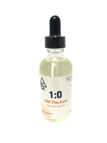 West Coast Cure CureBD Tincture - Peppermint 1000mg