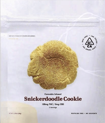 The Cookie Factory Snickerdoodle Cookie Edible 100mg - The Balloon Room