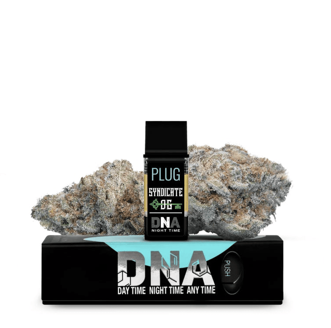 PLUGPlay DNA Sypndicate OG Vape 1G Cartridge - The Balloon Room
