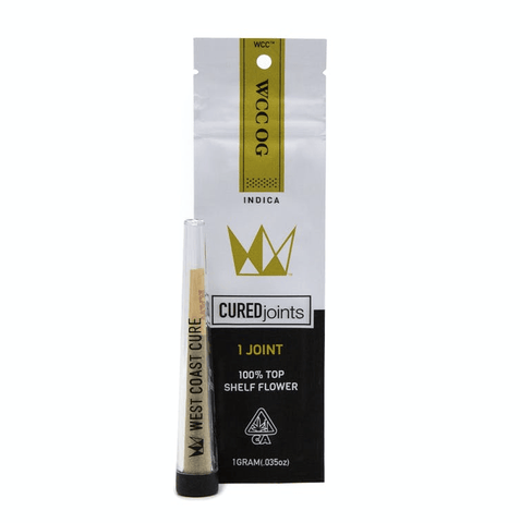 West Coast Cure Cured Joint Pre-Roll - Bacio Gelato
