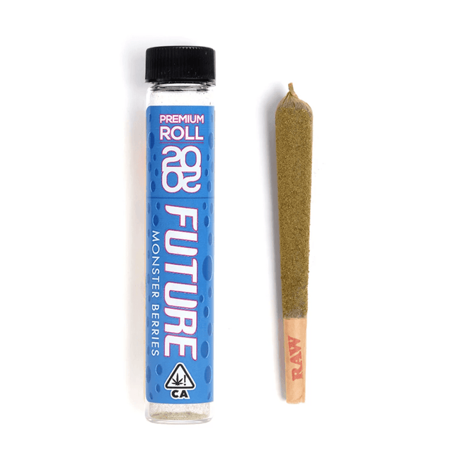 2020 Future Kief Premium Infused Pre-Roll - Monster Berry - The Balloon Room