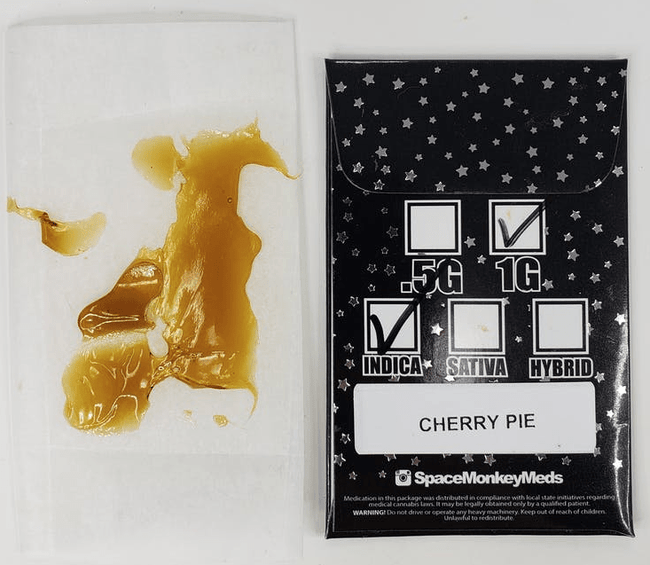 Space Monkey Meds Cherry Pie Shatter - The Balloon Room