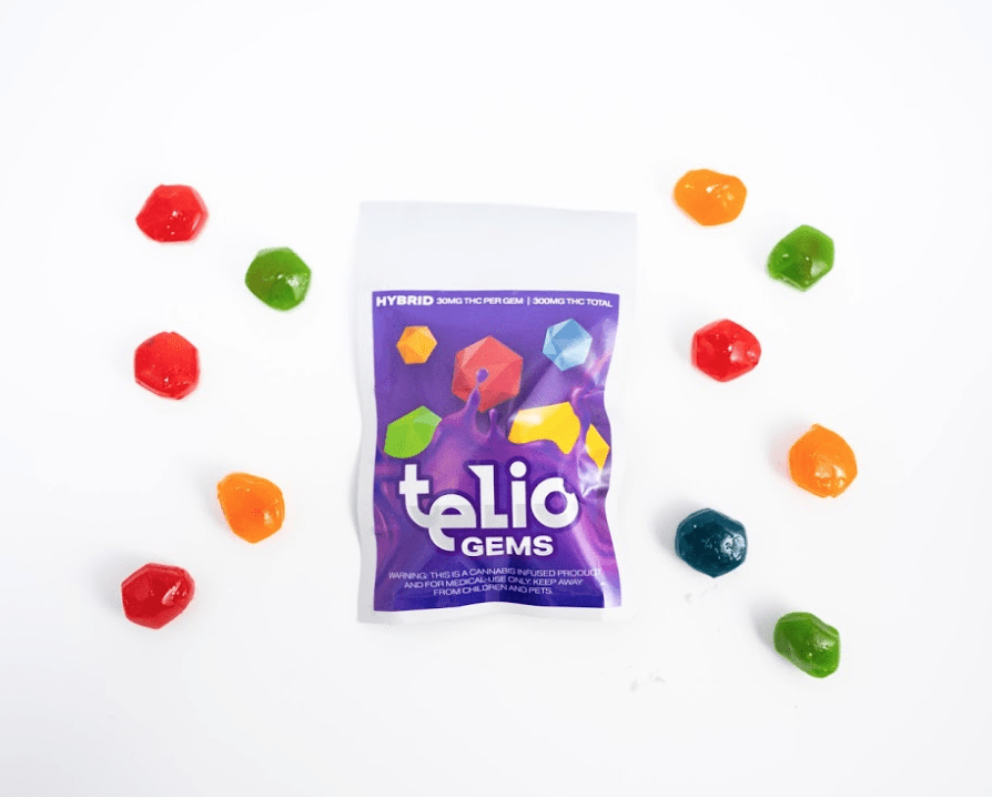 Telio Hybrid Gems Gummy Edible - The Balloon Room