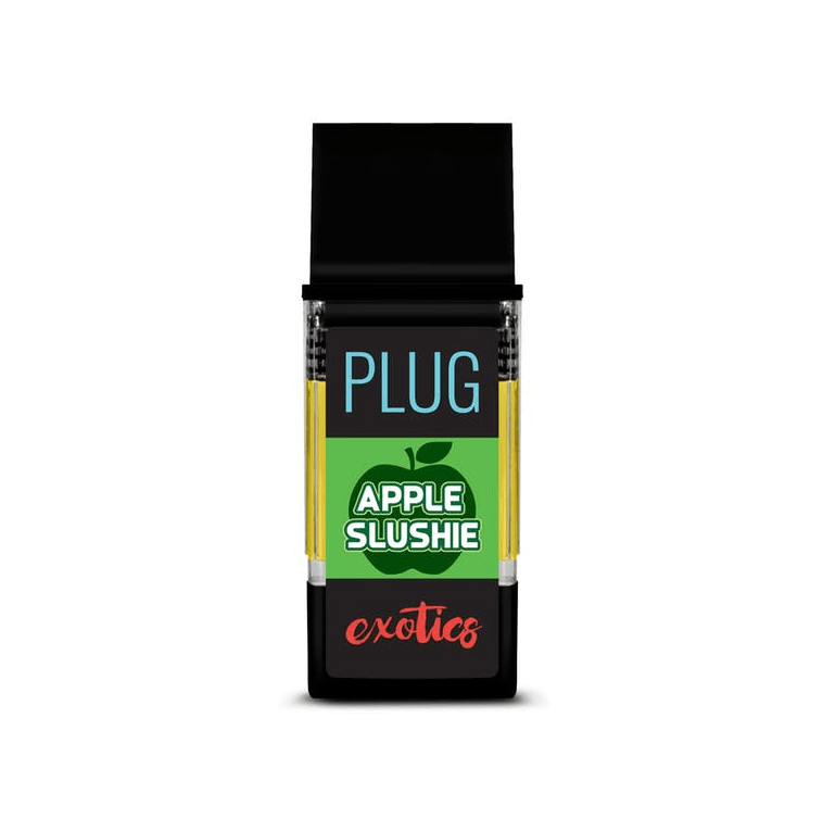 PLUGPlay Exotics Apple Slushie Vape Cartridge - The Balloon Room