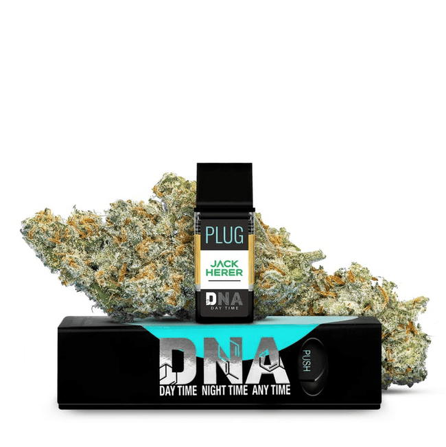 PLUGPlay Exotics Jack Herer Vape 1G Cartridge - The Balloon Room